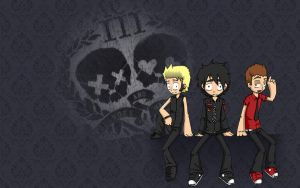 Green Day Wallpaper by AdiosUnconsciousness