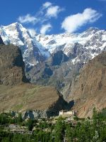 A view of Baltit Fort by OmerTariq
