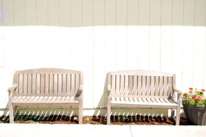Two Benches-Stock by Thorvold-Stock