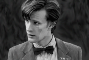 Matt Smith by Zizzorhands