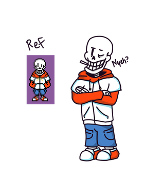 TS!US Papyrus New Design by FangtheWolfSome