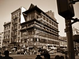 China Town Center Street by EligoDesign