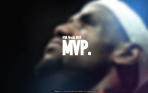 Lebron James Finals MVP Wallpaper by drgraphic