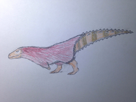 Striped Sawtail by TheDilophoraptor