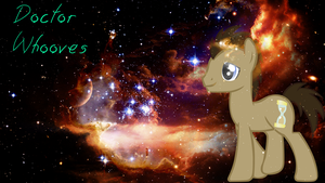 Dr.Whooves Wallpaper by xXValizanXx