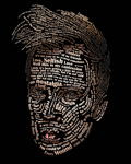 Typographic Portrait Patrick Stump by Tbearmn22