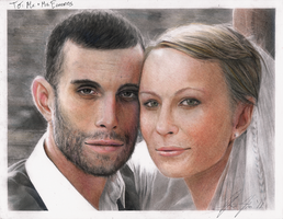 Portrait of a Couple by Keh-ven