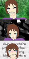 Even tears are hidden behind smiles... by villago