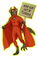 KEEP GOD OUT OF FLORIDA by RaptorBarry