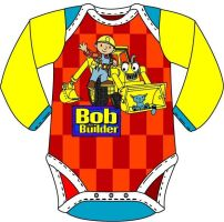Bob the Builder 2 baby onesies by Drew0b1