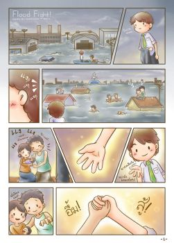 THAI Flood Fight 1 by famechan