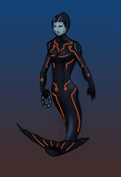 TRON Mermaid by malinghi
