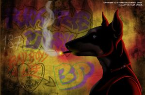 Mean Streets by duraluminwolf