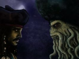 The Two Captains Meet by Ruth-Tay
