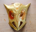 Lucifer from Ao No Exorcist leather mask by Masktastic