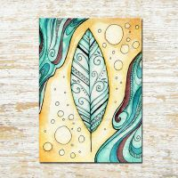 Feather ACEO by starwoodarts