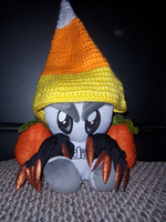 Candy Corn Fella Witch by SparklyDest