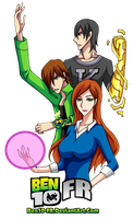 Ben10 - The Hero Trio by Ben10-FR