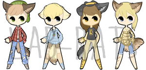 Set Price - Hipster Werewolves [3/4 OPEN] by lab-rats