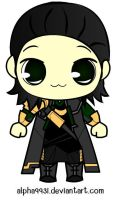 Loki by Alpha993I