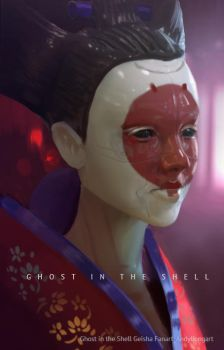 Ghost in the shell fanart by andyliongart