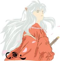Inu-Yasha Vector by Claud