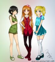 Power Puff Girls by Mari945