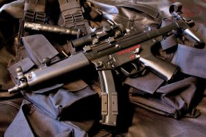 MP5-A3 by SWAT-Strachan