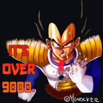 vegeta practica de color by monocker