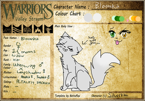 WVS - .: Bloomkit of Willowclan :. by SilverKitti