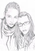 Simple Draw..Tom and Iruvienne by angelteva