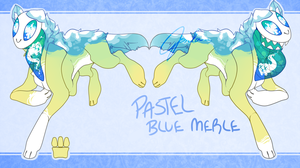 Pastel Blue Merle -Auction CLOSED- by Gloomy-Butt