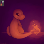 Tumblr Color Palette Thing - Charmander 12 by Oranguin