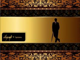 Mycroft Systems wallpaper Gold by akatsukinoshimo