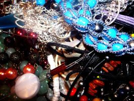 A Collection of Necklaces by Toby-Linn