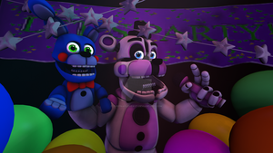 [FNaF SFM] Lets give our friend a gift Bon-bon!! by TheFNAFLoverYT