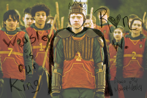 Weasley Is Our King by bamhugbug