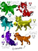 adoptables : CLOSED : by RedAdopts