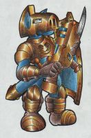 Horse Soldier Knight. by Virus-20