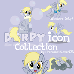 Derpy Icon Collection  by percabethlover123
