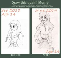 Draw this again! Meme. Eponine by Thehighwaygirl