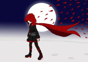 RWBY - Red like Roses by Steel--The--Gamer