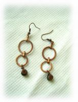 Copper Rings by Rolary