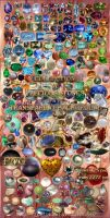 Collection of precious stones by Lyotta