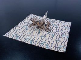 Origami Dragon by GoldWinds