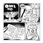 Owltober 18th 2009 by sayunclecomics