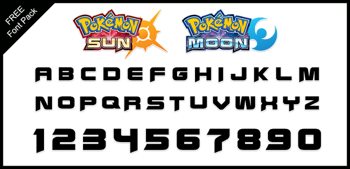 Font Pack: Sun and Moon by Pokemon-Diamond