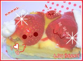 yummy cake by LouBerry
