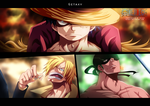 Monster Trio by Getaxy