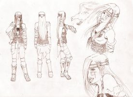 Alena Character Sheet by claes-gascogne